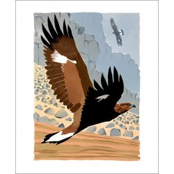 Lisa Hooper Golden Eagles Greetings Card LH3027