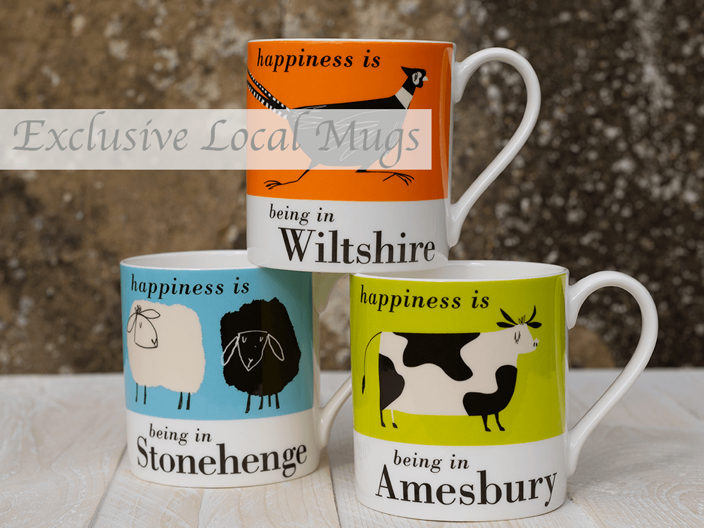 Exclusive local mugs